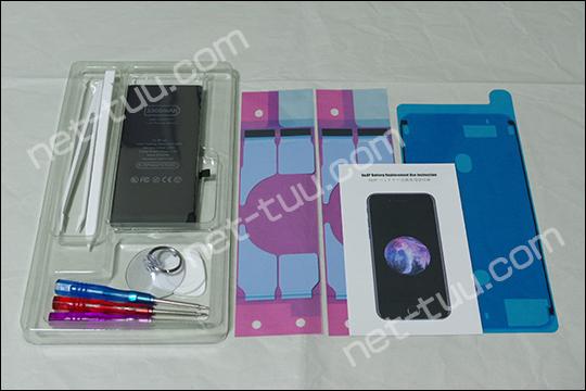 iPhone8Plus 交換バッテリー