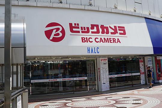 ビックカメラ新宿西口店 入り口