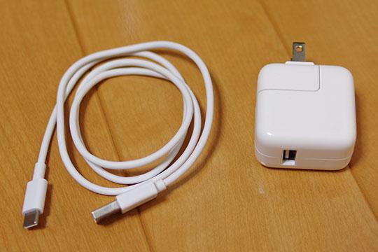 USBケーブル・ACアダプター