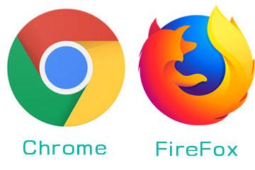 chrome・FireFox アプリアイコン