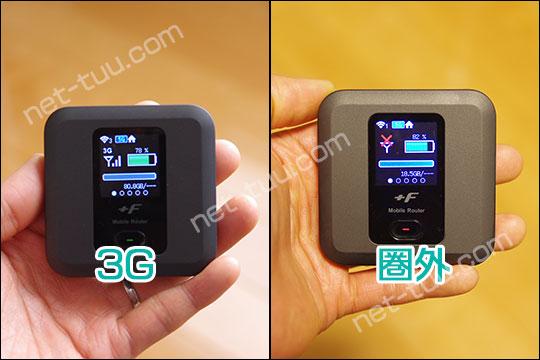 FS030W 3G・圏外表示