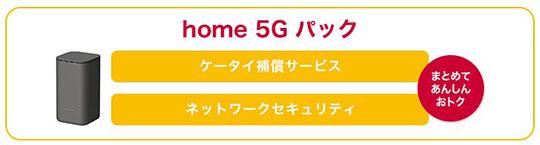 home 5G パック