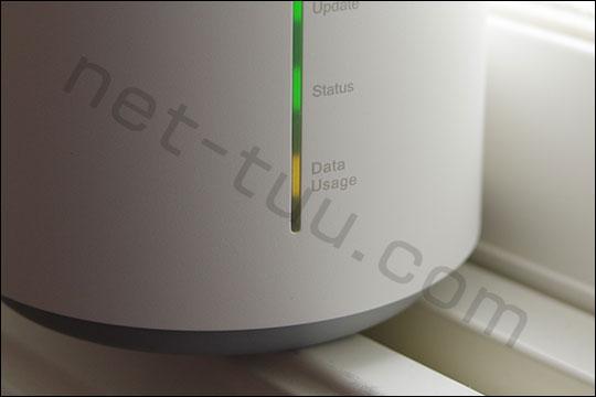 L02 Data Usageランプ