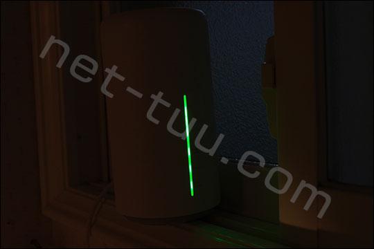 L02 LEDランプ 夜の明るさ