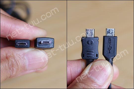 Micro USB Type-B 端子形状