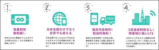 Mugen WiFiの特徴を表すイラスト