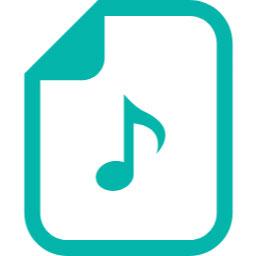 音楽ファイル アイコン