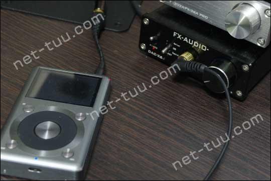 FiiO X3 2nd・DAX-X6J