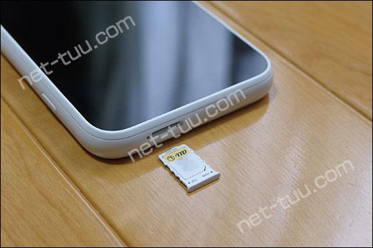 Galaxy 5G Mobile Wi-Fi SIMカードスロット
