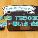 【良い点・悪い点 全解説】PIXUS TS5030Sの口コミ&詳細レビュー