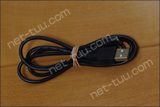 WX05付属のUSBケーブル