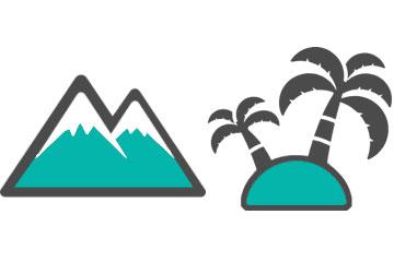 山間部 離島 イメージ