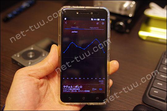 ZenFone LiveとHF Player